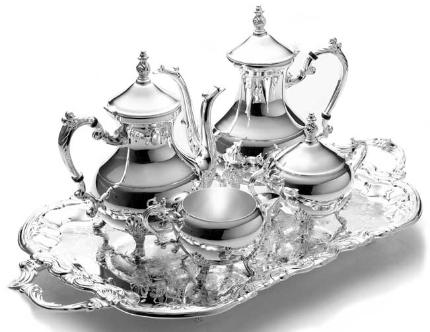 Sell a silver tea set in Leeds